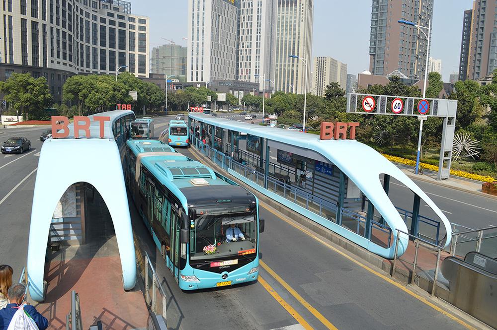 BRT a Changzhou. Font: Scania