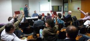 Junta ampliada del dia 16 de gener de 2014 per debatre sobre els projectes de Glòries i de la Diagonal
