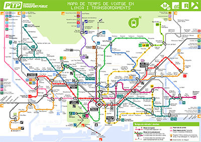 Mapa Transporte Publico Barcelona.Herramientas Para Viajar Transportpublic Org